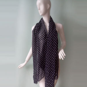 Polka DOT Scarf Blue for Women in Autumn Winter pictures & photos