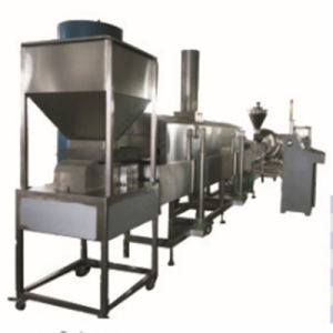 Rice Cracker Processing Line with Screw Extruder pictures & photos