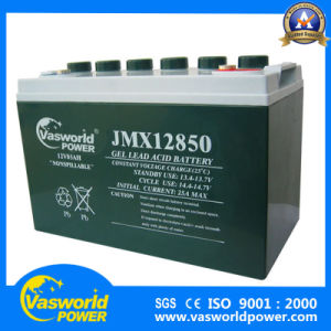 High Quality 12V 100ah VRLA Gel Solar Battery Middle East Market pictures & photos