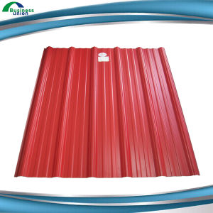 Dx51d Color Coated Galvanized Corrugated Steel Roofing Sheet
