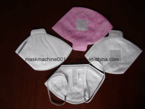 Automatic Ultrasonic Inner Fold Mask Machine pictures & photos