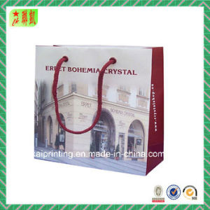 Custome Printed Coated Paper Shopping Bag pictures & photos