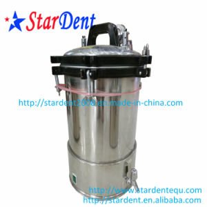Dental Product Pressure Cooker with Faucet /24L Stainless Steel Portable Sterilizer Sterilization pictures & photos