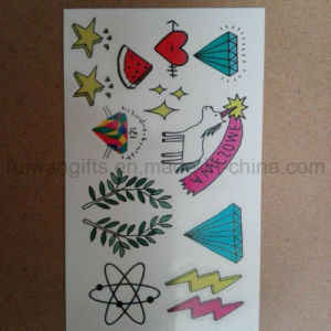 Custom Cartoon Kids Tattoo, Body Temporary Tattoo for Food Souvenirs pictures & photos