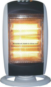 Small Size Halogen Heater with Osicillating