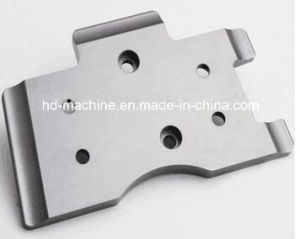 Custom Made High Quality Silver Iron Mechanical Parts (milling, turning, painting, anodizing, bending, die casting)