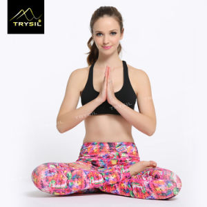 Foot Leggings Yoga Foot Pants Sportswear Supplier pictures & photos