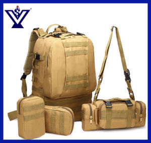 Camouflage Military Backpack Army Bag Multifunctional Backbag Combined Bag (SYSG-1813) pictures & photos