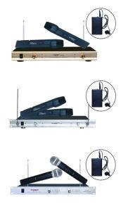 UHF Wireless Microphone Karaoke Machine Microphone Handheld Microphone pictures & photos