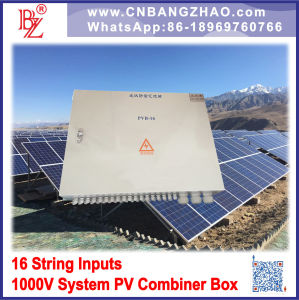 16 Strings Intelligent PV Array Combiner Box with Mornitoring pictures & photos