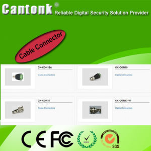 Competitive Accessory CCTV Cable Connectors pictures & photos
