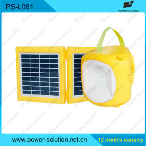 Solar Panel Charger with LED Home Lighting pictures & photos