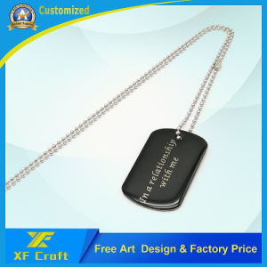 Supply Enael/Laser Engraving Name/Pet/ID Dog Tag Manufacture (XF-DT15) pictures & photos