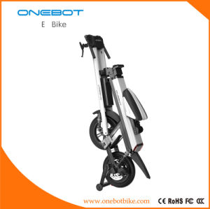 Folding Ebike, Folding Onebot E-Bike Pansonic Battery 500W Motor, Urban Mobility, Intelligent Ebike, 3 Wheels pictures & photos