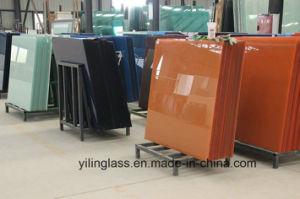 Tempered Color Ceramic Glass Backsplash pictures & photos