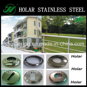 Polish Stainless Steel Railing Round Base Cover pictures & photos