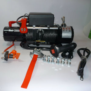 SUV 4X4 Recovery Winch Power Winch with Ce Certification (12000lb) pictures & photos