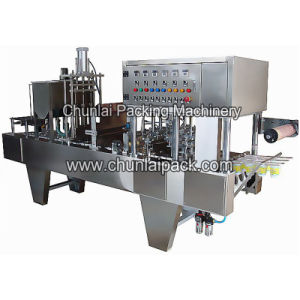 Liquid Yogurt Cup Filling and Sealing Machine pictures & photos