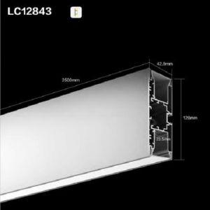 Pn12843 LED Linear Pendant Light Extrusion Channel LED Aluminium Profile pictures & photos