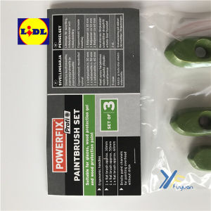 Green Tip Set of Paint Brush- Powerfix Lidl pictures & photos