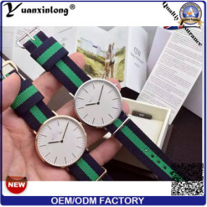 Yxl-100 2016 Watch Factory Stainless Steel Colorful Nato Nylon Band Watch Wrist Watch Drees Lady Casual Men Watches pictures & photos