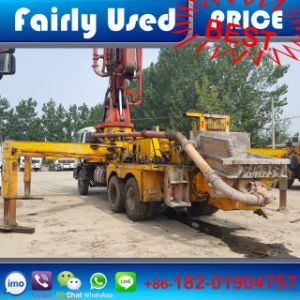 High Quality Used Sany Isuzu Concrete Pump Truck pictures & photos