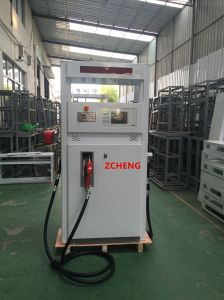 Zcheng Win Series (round panel) Fuel Dispenser Double Pump Nozzle LED pictures & photos
