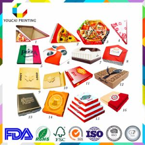 Factory Wholesale Cheap Printed Pizza Packaging Box Custom with Logo pictures & photos
