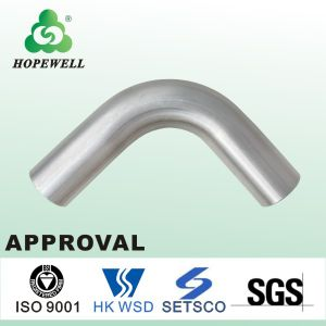 Top Quality Inox Sanitary Stainless Steel 304 316 90 Degree Equal Elbow pictures & photos