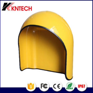 Koontech Professional Telephone Acoustic Hood Manufacturer Rugged Telephone Hood RF-12 Glass Fiber Reinforced Plastics:     pictures & photos