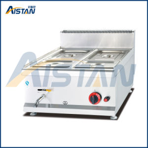 Gh584 Counter Top Gas Bain Marie with All Stainless Steel pictures & photos