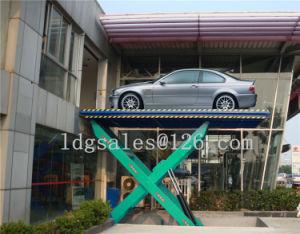 Stationary Hydraulic Scissor Car Lift (SJG2-3.3) pictures & photos