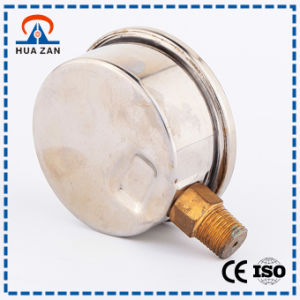 Best 2 Inch Liquid Filled Oil Pressure Gage with Factory Price pictures & photos