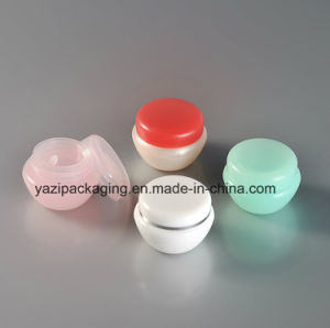 5g 10g 20g 30g 50g 80g PP Plastic Cosmetic Skin Care Cream Empty Jar pictures & photos