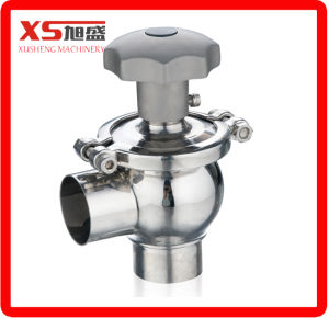 Stainless Steel Manual Sanitary Ball Type Flow Control Valve pictures & photos