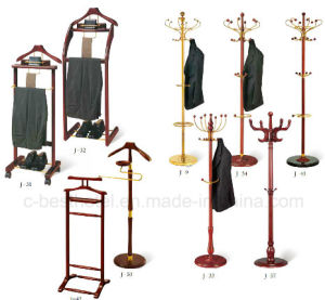 Hotel Guest Room Wooden Clothes Rack pictures & photos