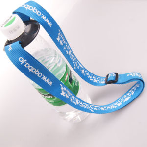 Customized Screen Printed Bottle Holder Neck Lanyard pictures & photos