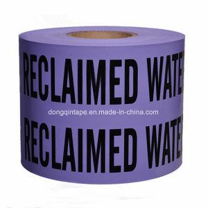 Purple Reclaimed Water Warning Tape