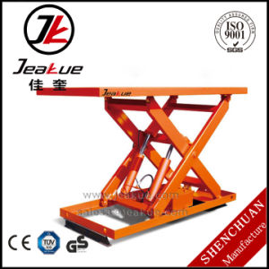 Jeakue Heavy Duty Stationary Electric Lift Table pictures & photos