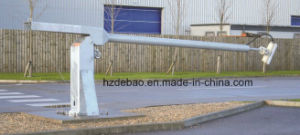 Galvanized Steel Lodging CCTV Camera Pole with Winch pictures & photos