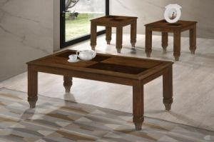 Solid Wood Coffee Table Set (Aldo 1+2) pictures & photos