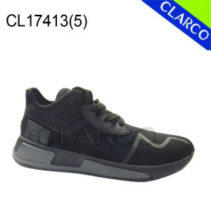 Fashion Men Sport Sneaker Running Shoes with Cushion Sole pictures & photos