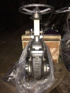 DIN Ss 316L Rising Stem Pn10~Pn100 Dn15~Dn300 Welding Gate Valve (Z61W-16R) pictures & photos