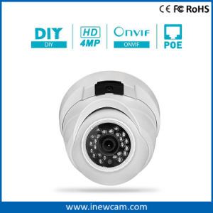 Onvif 4MP IR 30m Poe Dome Home Security IP Camera pictures & photos
