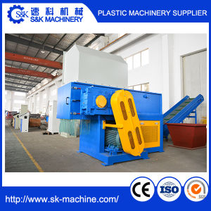 Single Shaft Shredding Machine for Plastic Waste pictures & photos