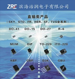 8A Sr840 (F) Thru Sr8200 (F) Schottky Barrier Rectifiers to-220AC pictures & photos