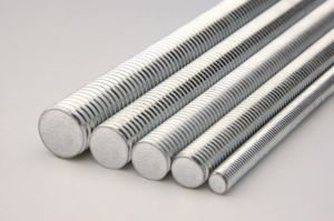 Threaded Bolt Threaded Rod Carbon Steel Zinc Plated pictures & photos