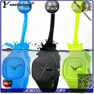 Yxl-107 2016 Jelly Silicone Watch, Watch Women Ladies Candy Color Dress Wrist Watch Sport Casual Men′s Watch Gift pictures & photos