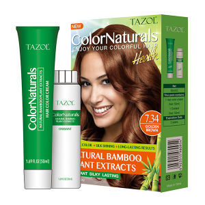 7.34 Bamboo Hair Color Cream Hair Dyein 60ml *2+10ml pictures & photos