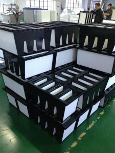 90%-99.99% Replacement HEPA V Shape Filter for Clean Equipment pictures & photos